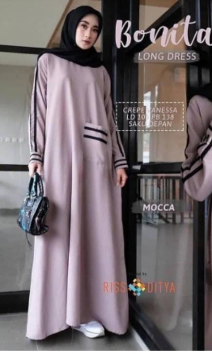 #BAPAU Bonita Dresse casual Muslim
