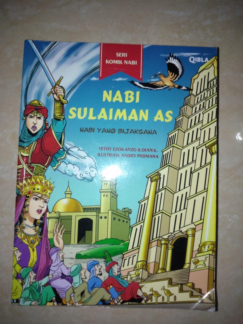 #Bapau Buku Serial Komik Nabi Sulaiman AS
