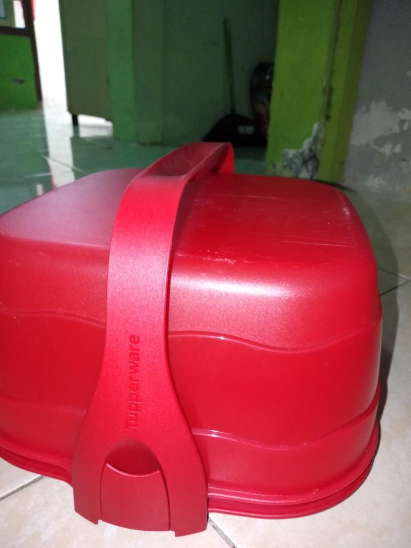 #Bapau Kotak Tart Tupperware