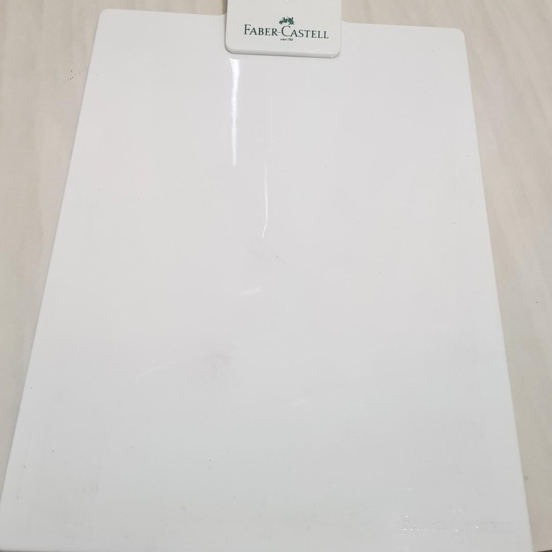 #BAPAU Penjepit Kertas / Papan Ujian Faber Casteel