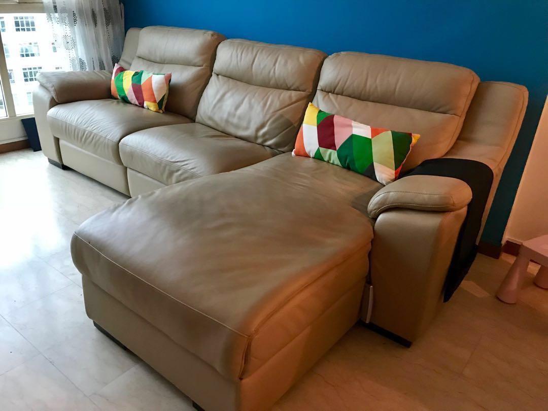 Best Deal Finest Genuine Italian Leather Sofa Furniture