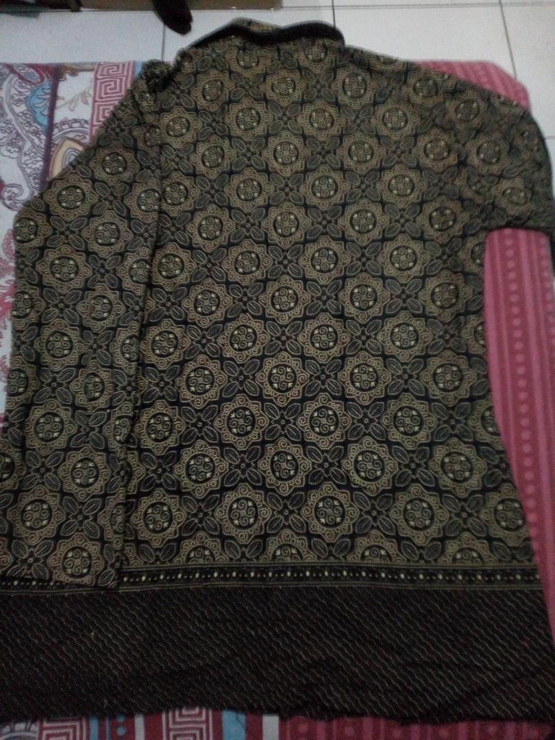 Blouse batik coklat