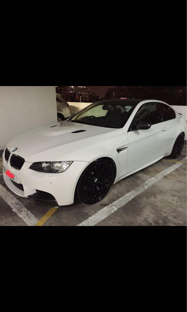 BMW M3 Coupe DCT 2011