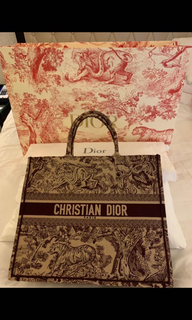 Brand New Dior Book Tote