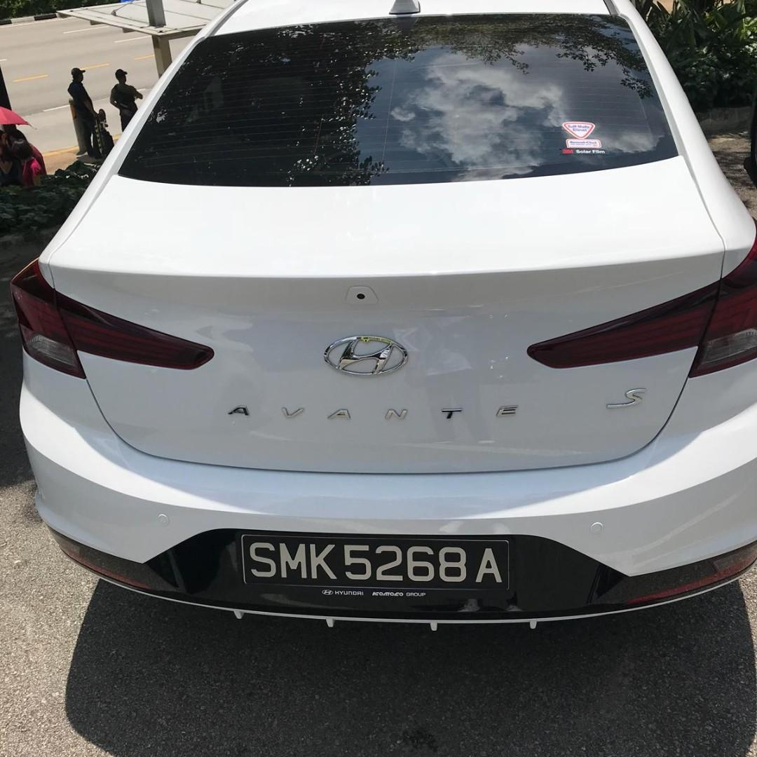 BRAND NEW HYUNDAI AVANTE S MODEL