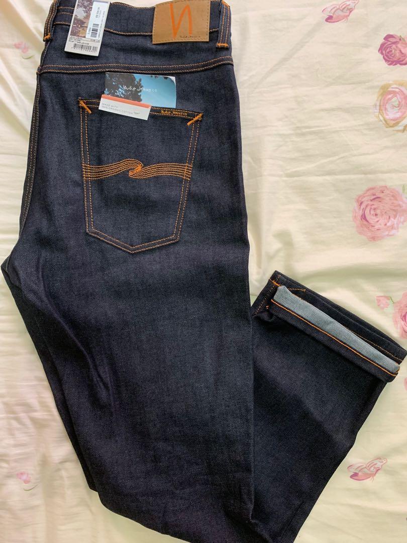 Brand New Nudie Jeans Lean Dean Dry 16 Dips