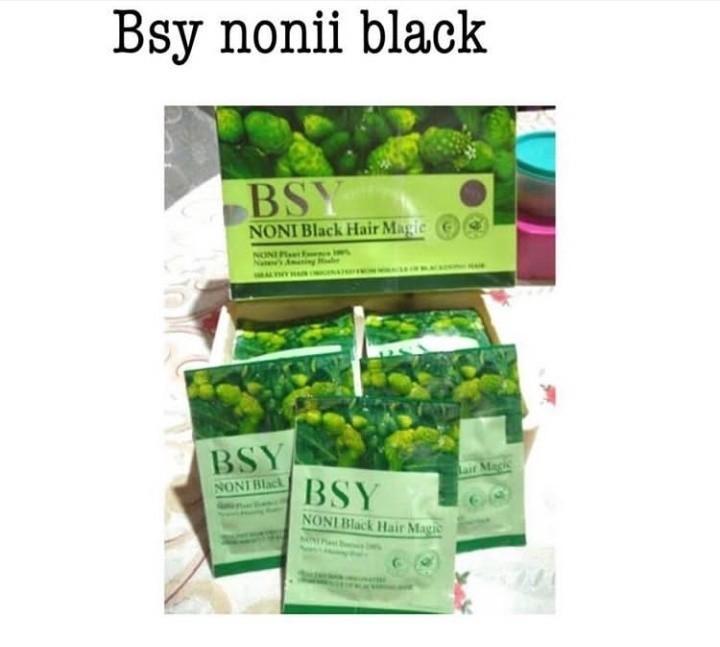 Bsy noni black shampo
