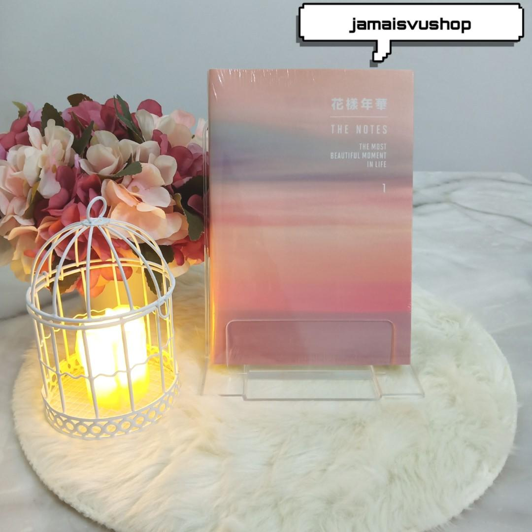 BTS THE MOST BEAUTIFUL MOMENT IN LIFE HYYH THE NOTES 1 ENGLISH