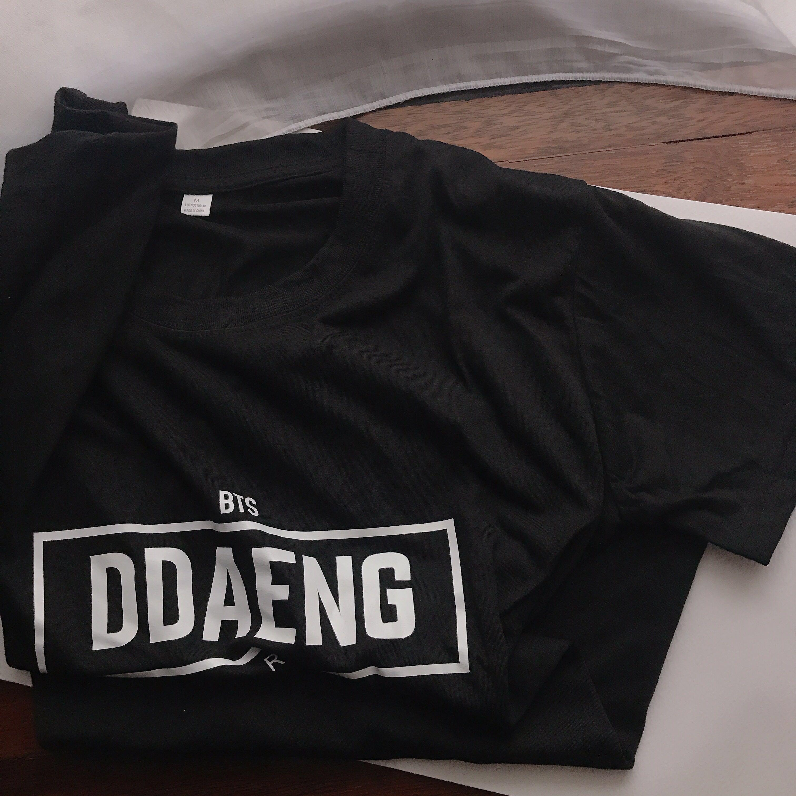 BTS T-shirt Ddaeng rapline