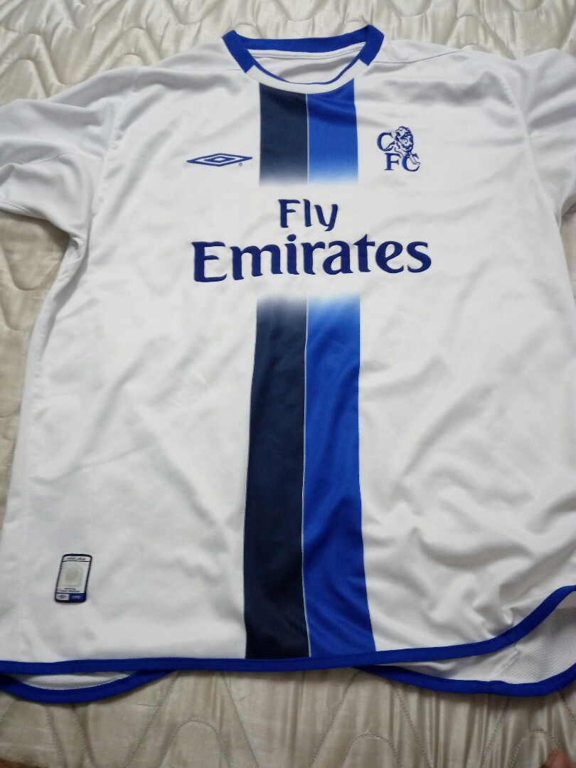 new product eb115 89dbe Chelsea Away Jersey 2004