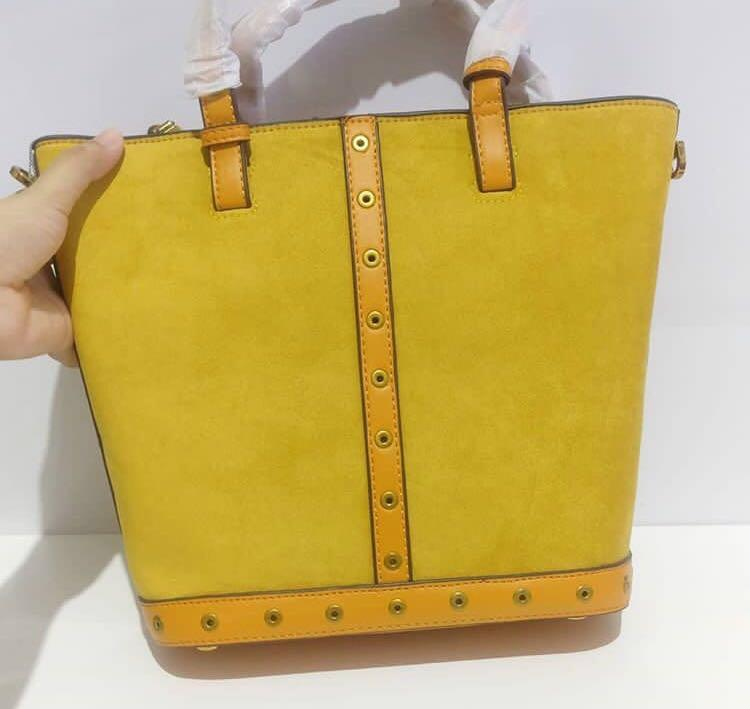 CK suede yellow original