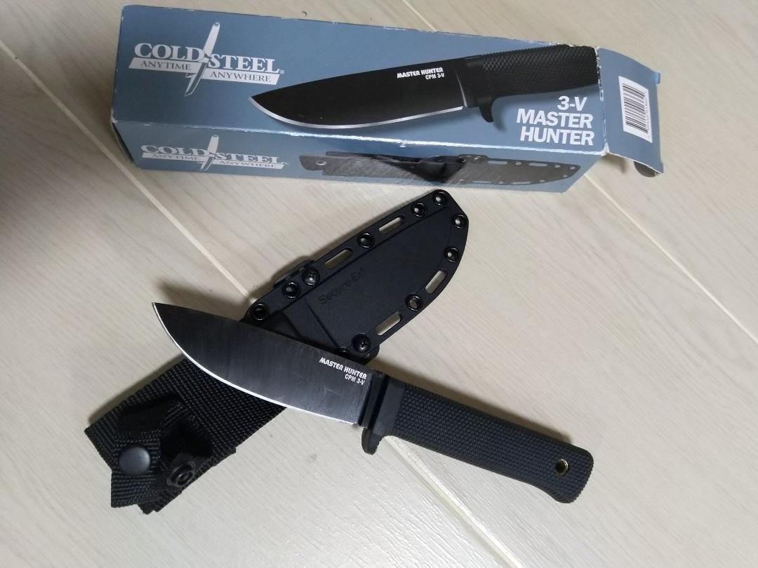 Cold Steel Master Hunter 3V鋼材版