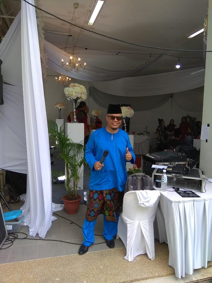 Dj/Emcee for Wedding Event/Perjumpaan raya, etc...