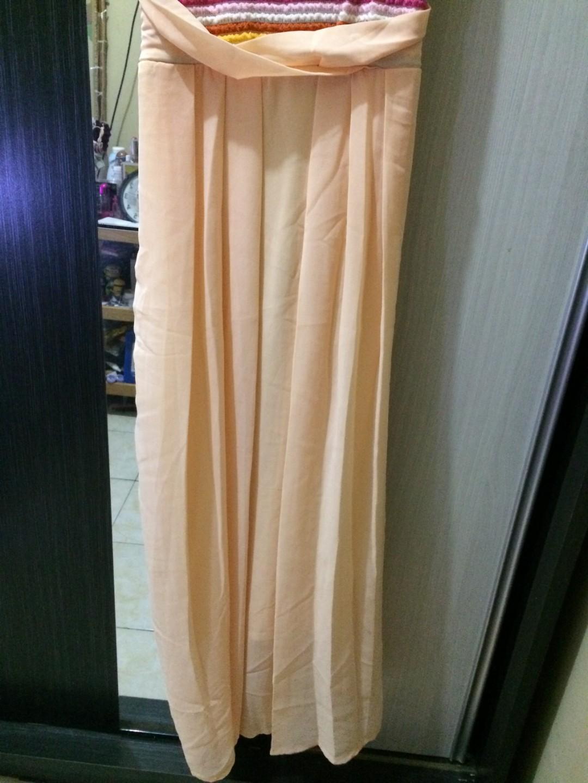 Dress rainbow / gamis pelangi