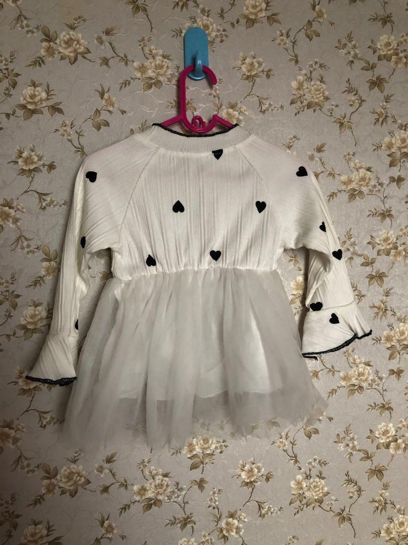 Dress Tutu Bayi Import / Mididress