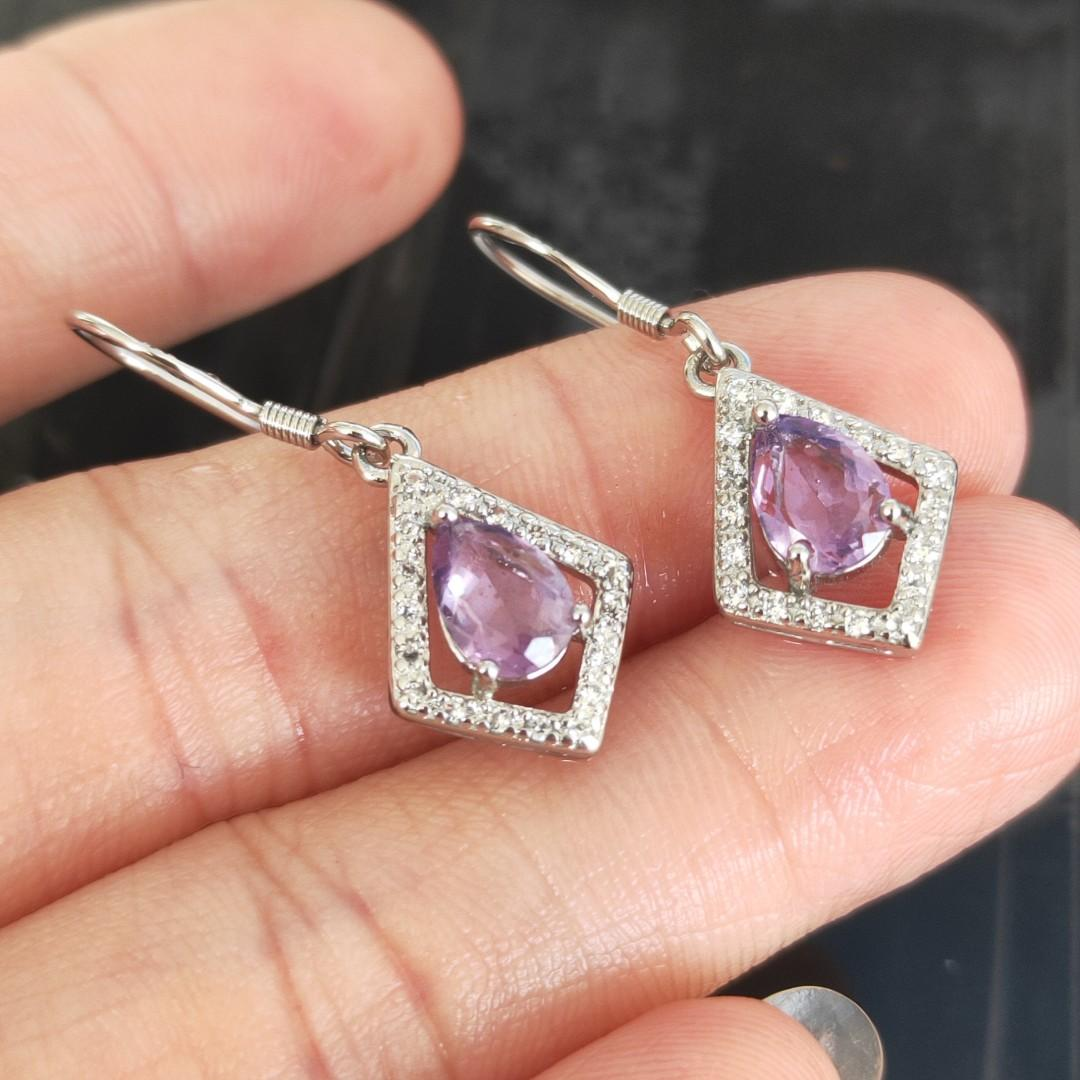 ⭐️Earring (Amethyst*紫水晶)