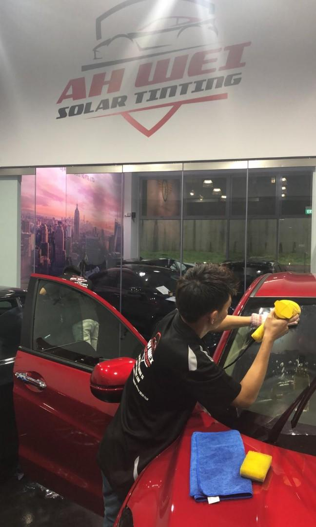 Geo shield solar film car tinting Specialist