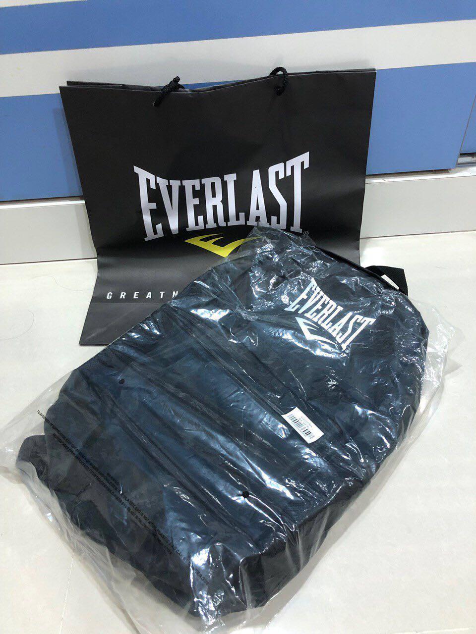 Everlast Black Waterproof Backpack