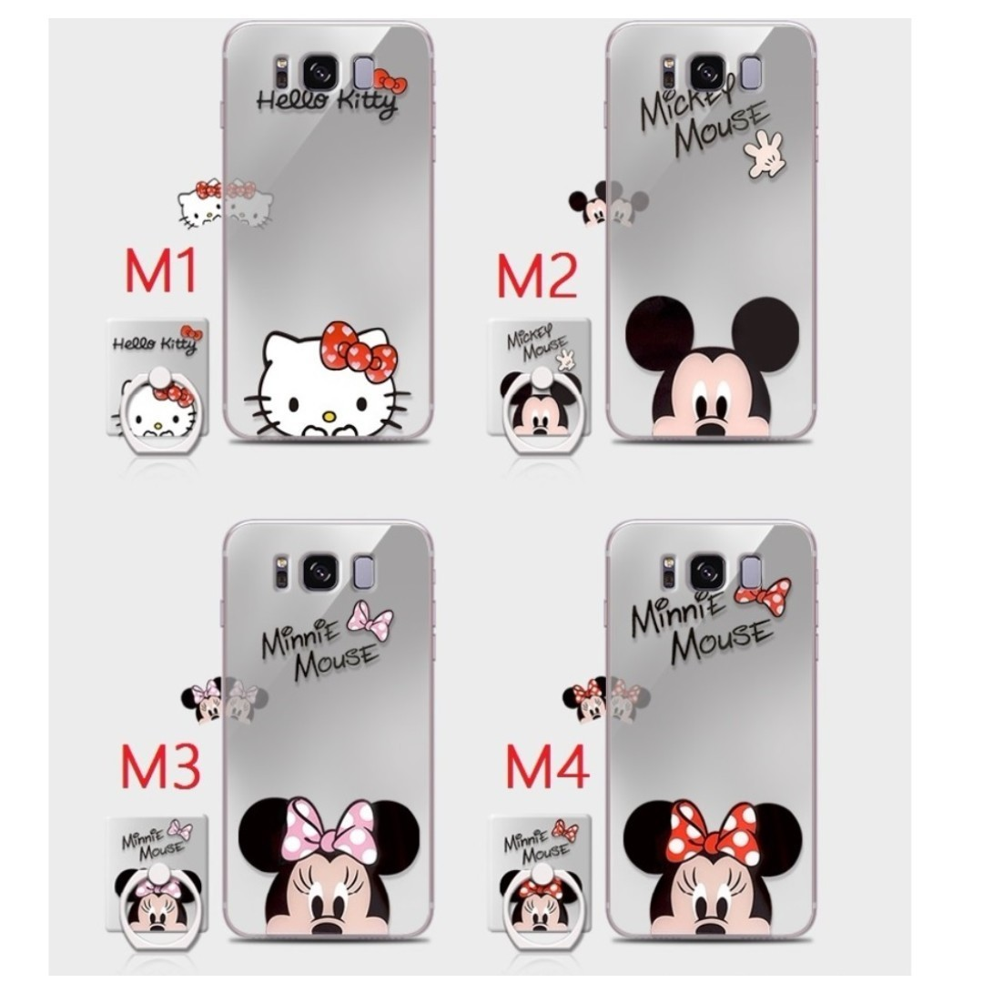 the latest 041ac 19535 Samsung Galaxy S8 / S8 Plus Minnie Mickey Mouse iRing Case