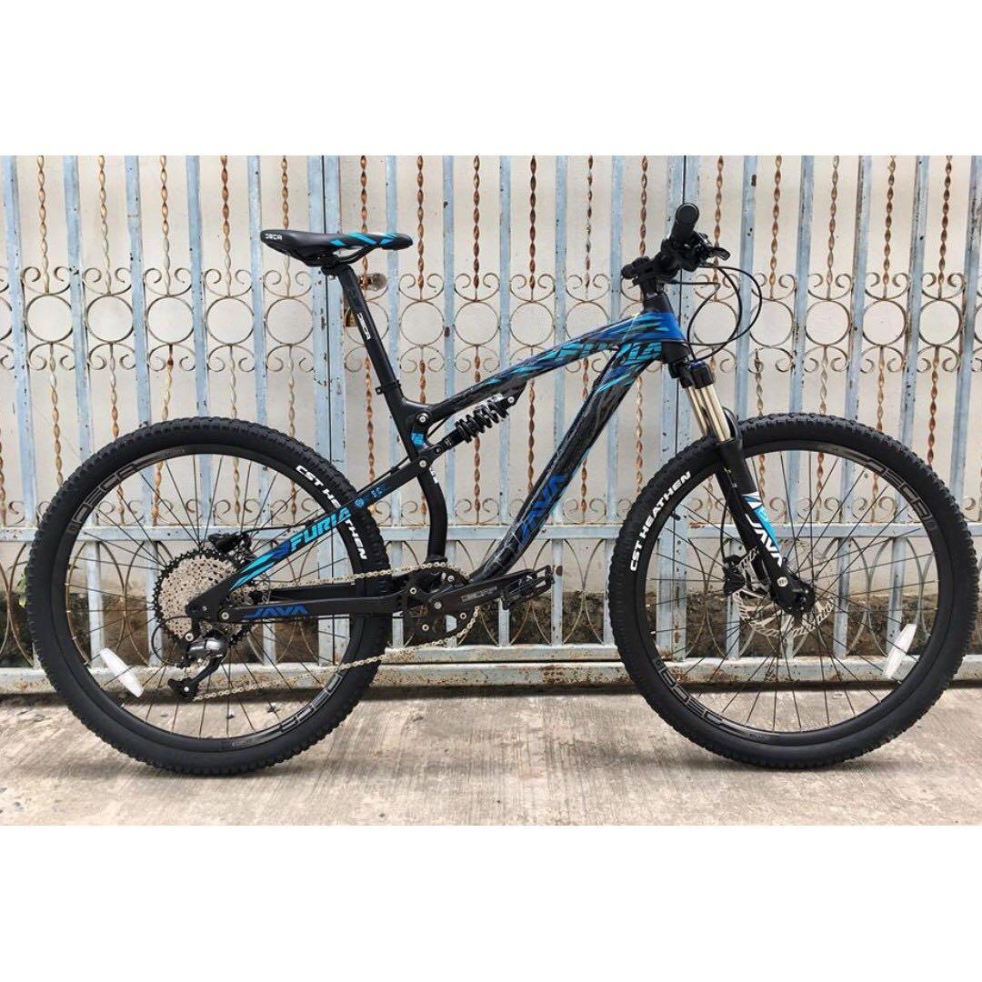 Full suspension MTB 11-50T cassette 27.5 wheelset java mountain bike