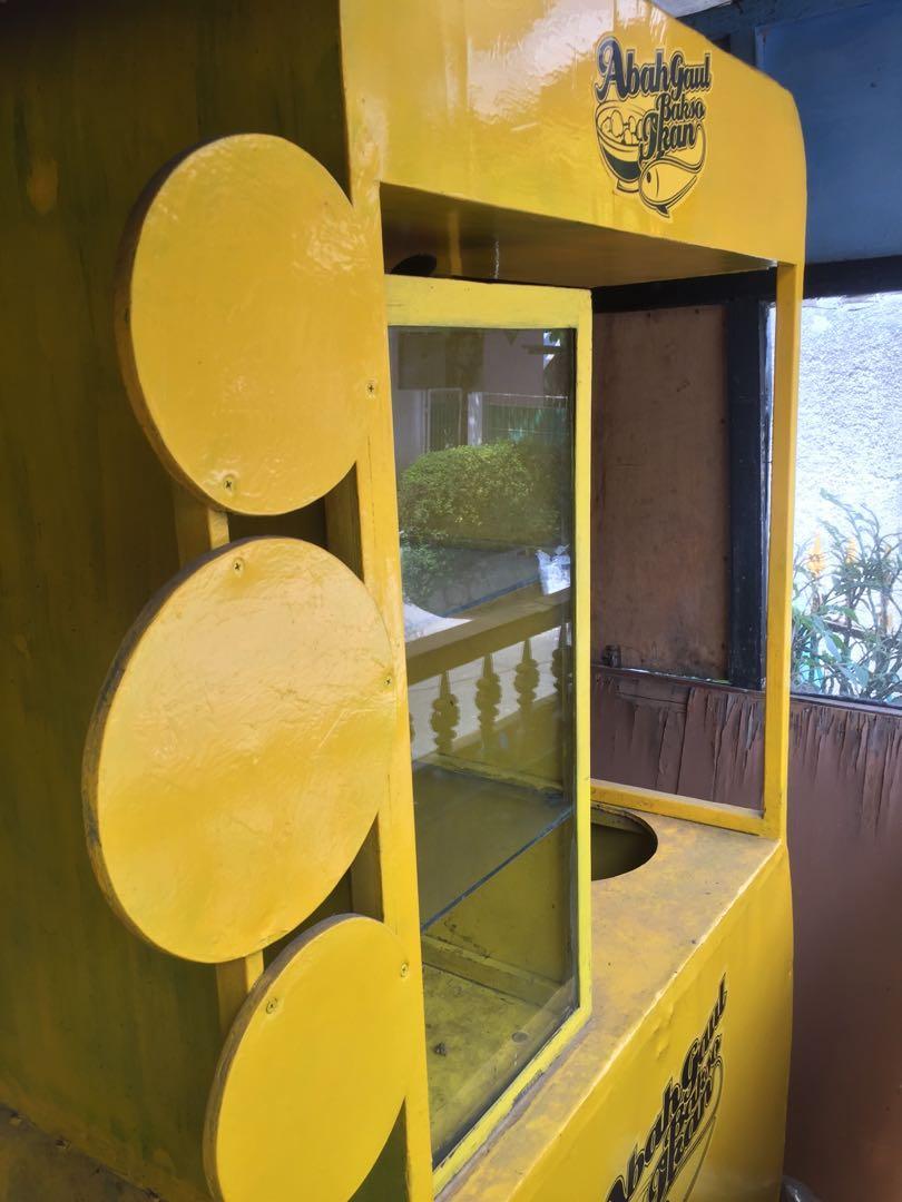 gerobak booth baso
