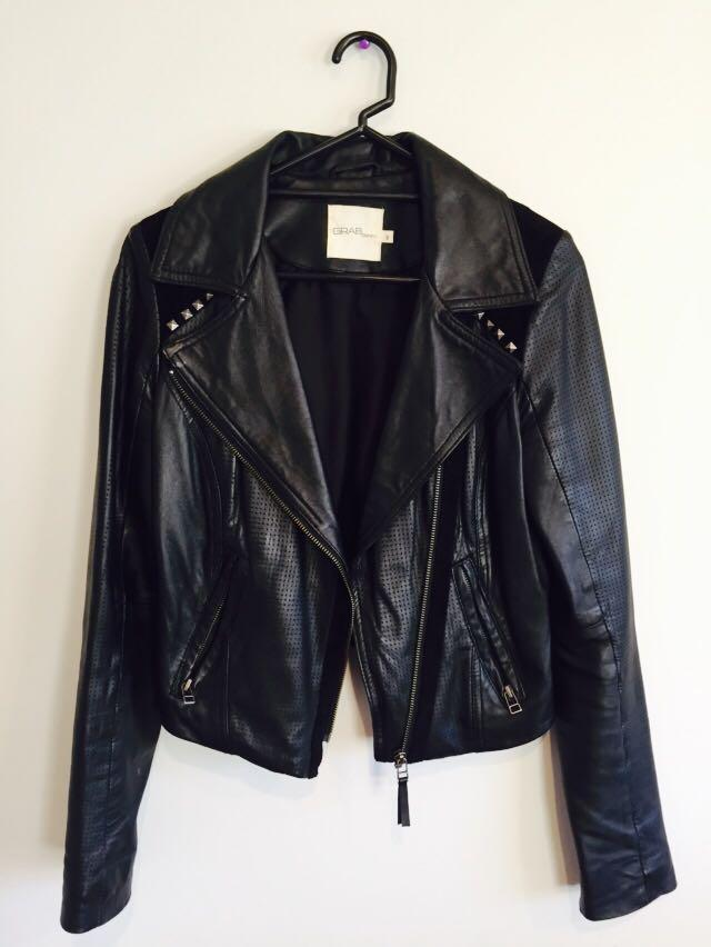 GRAB Leather Jacket