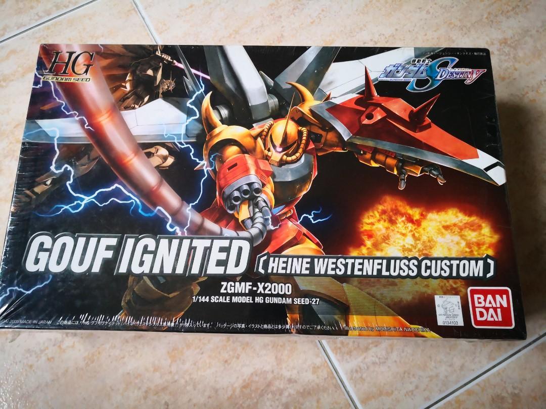 HG Gundam Seed 1/144 #27 Gouf Ignited (Heine Westenfluss Custom)