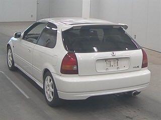 HONDA CIVIC TYPE-R EK9 1997