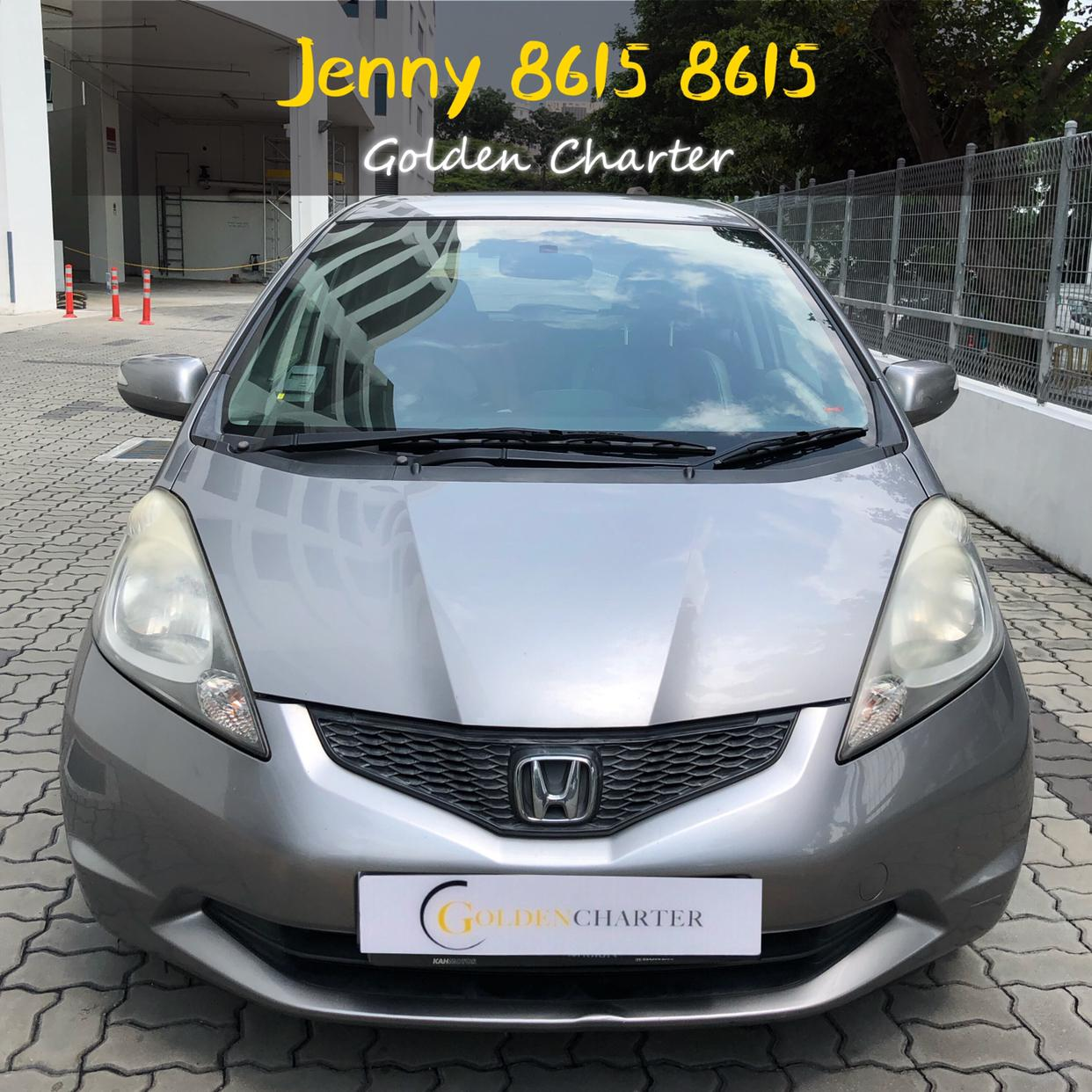 Honda Jazz PROMO RENTAL CHEAPEST RENT FOR Grab/Ryde/PersonalG