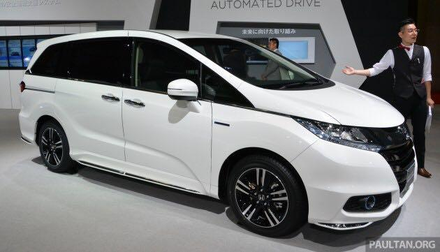 Honda Odyssey Hybrid 2.0 Absolute 7 seater sensing