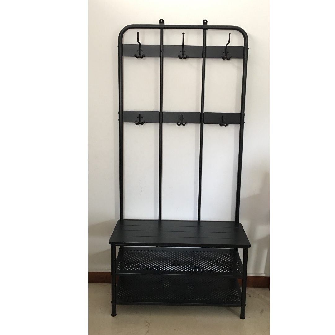 Ikea Pinnig Shoe Coat And Hat Rack With Bench Seat For Hallway Or Foyer Furniture Others On Carousell