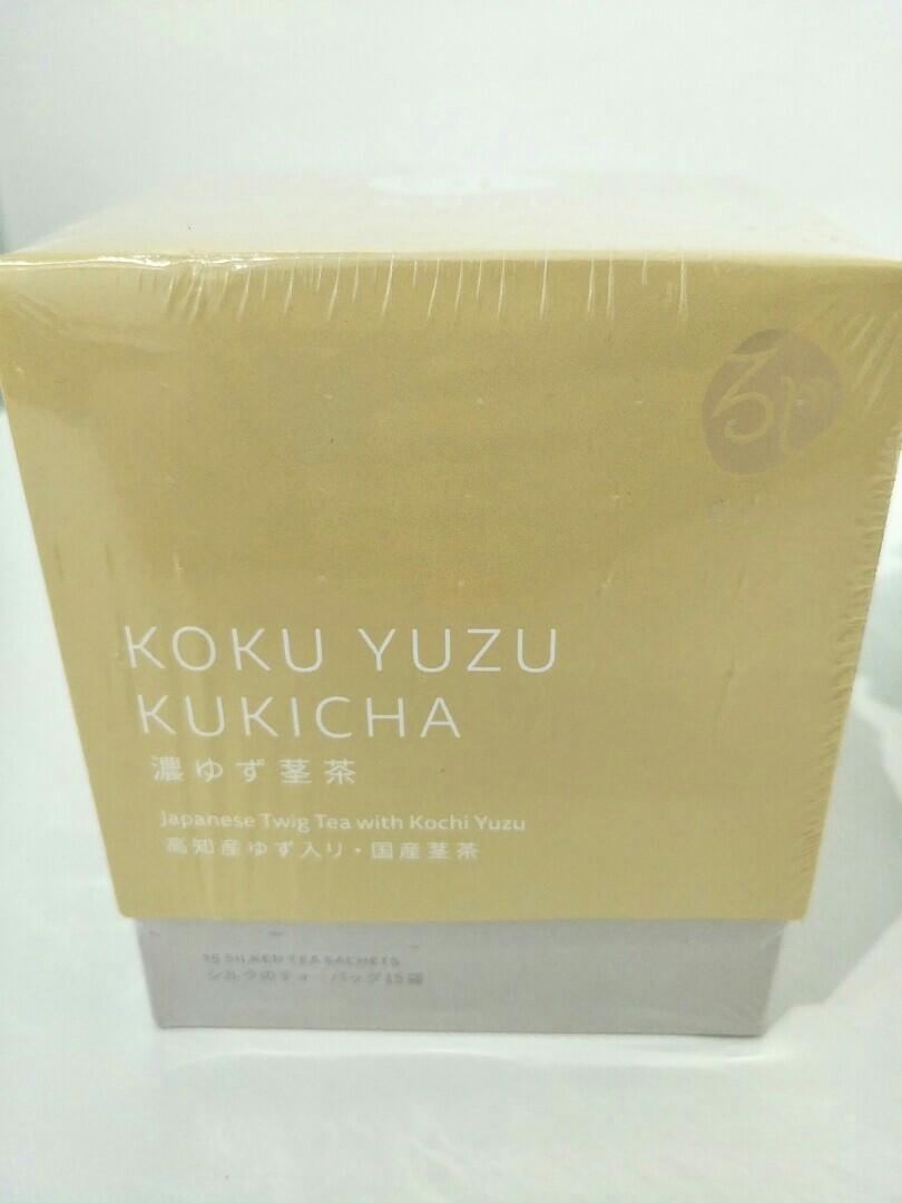 In-stock roji koku yuzu kukicha