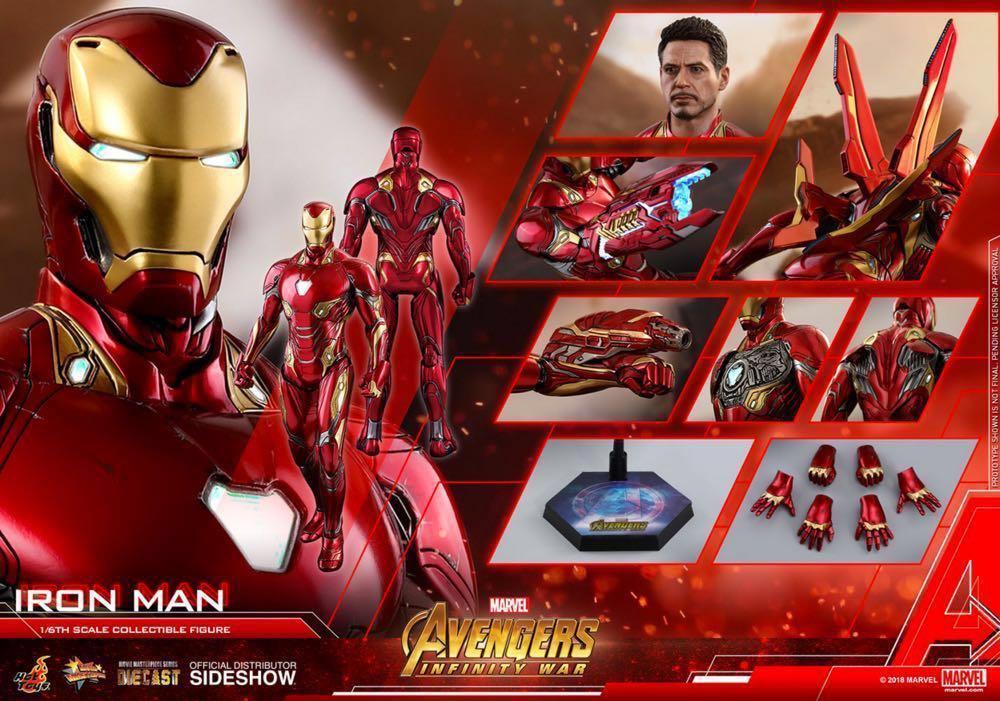 Iron Man Mark 50 Rerun 現貨+武器包未可取單