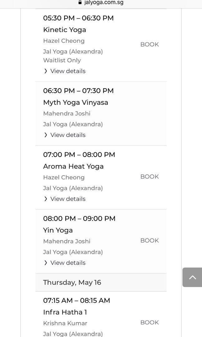 JAL Yoga membership