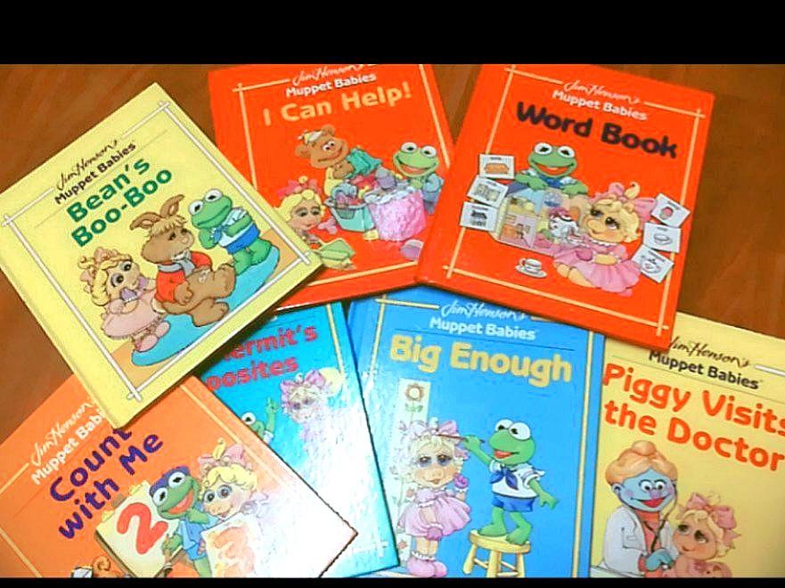 Jim Henson's Muppet Babies series (Hard cover)