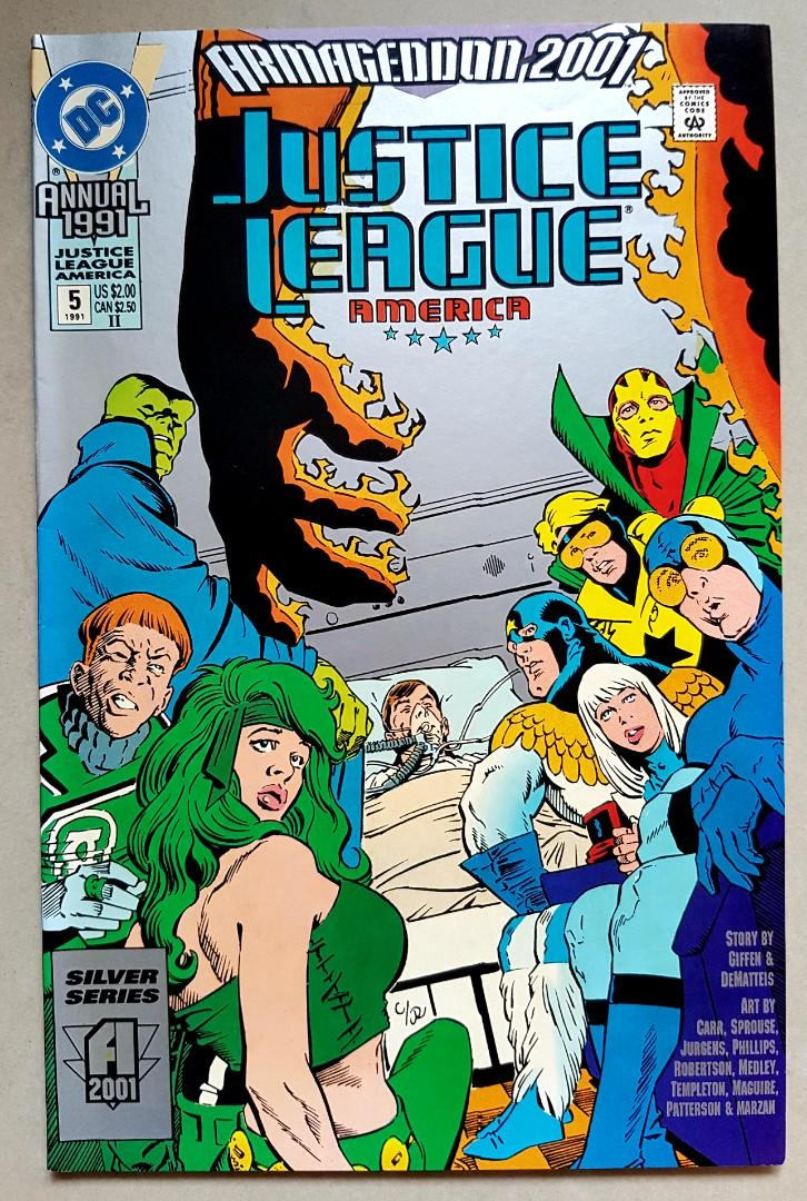 JUSTICE LEAGUE AMERICA ANNUAL 1991