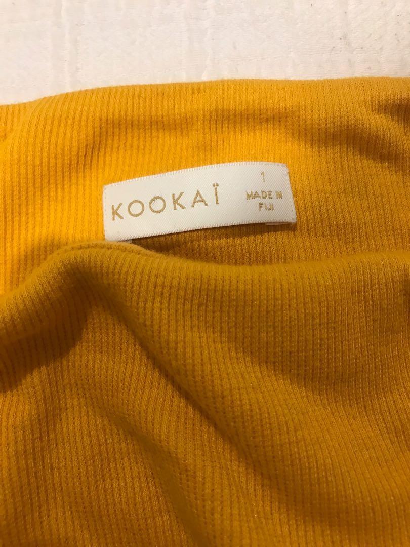 Kookai Drawstring Top