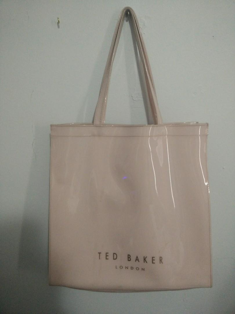 Large Pink Ted Baker Tote (As Is)