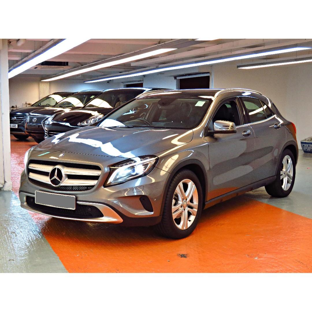 2015 MERCEDES-BENZ GLA200