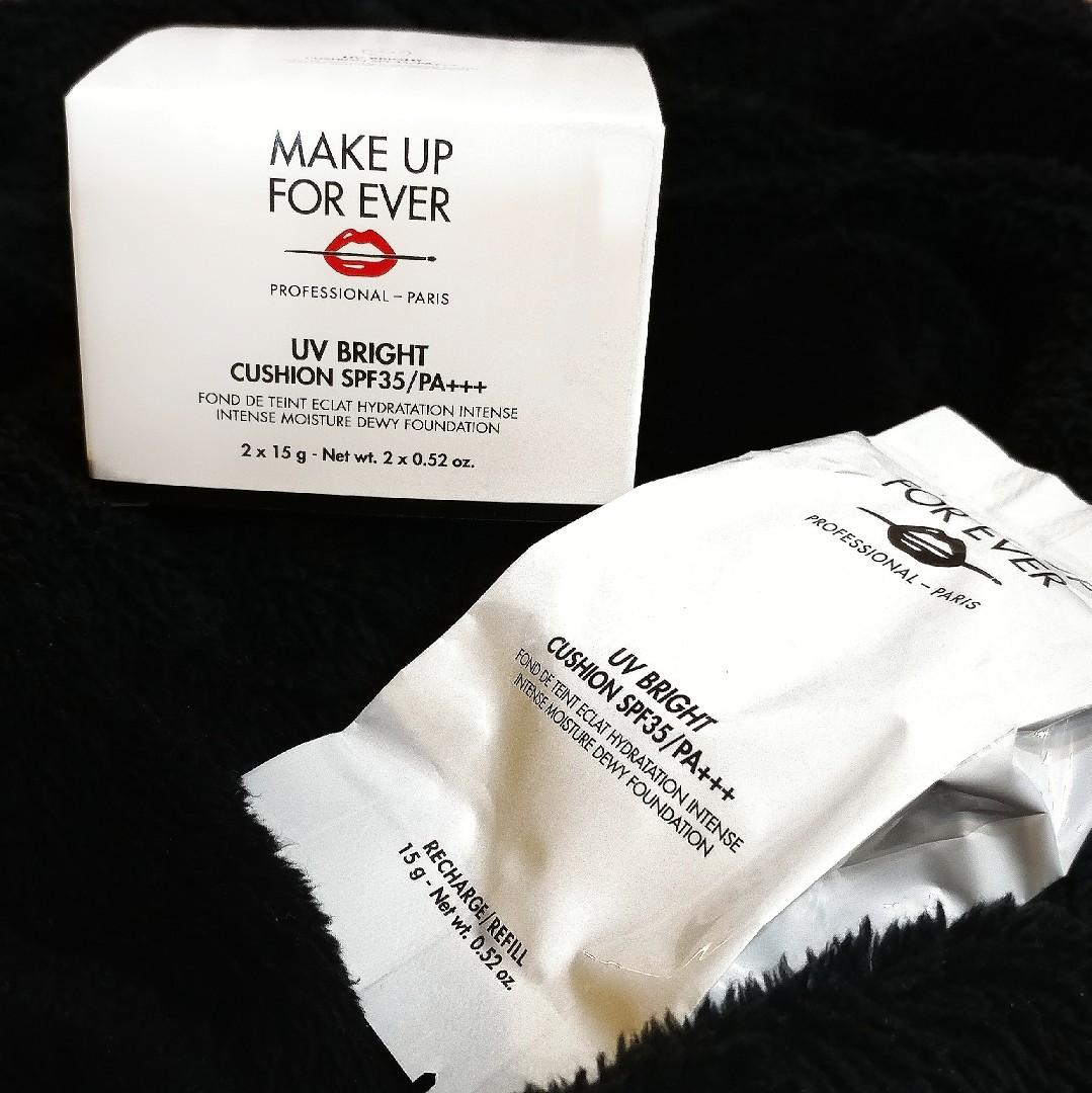 MUF make up forever UV bright cushion(全新未開refill+盒)