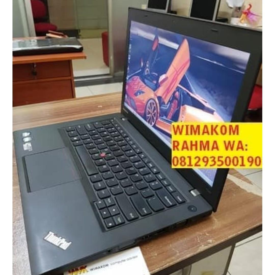 "Murah Laptop Thinkpad T440 Core I5 Haswel Ram 8gb SSD 240GB SECOND 14"""