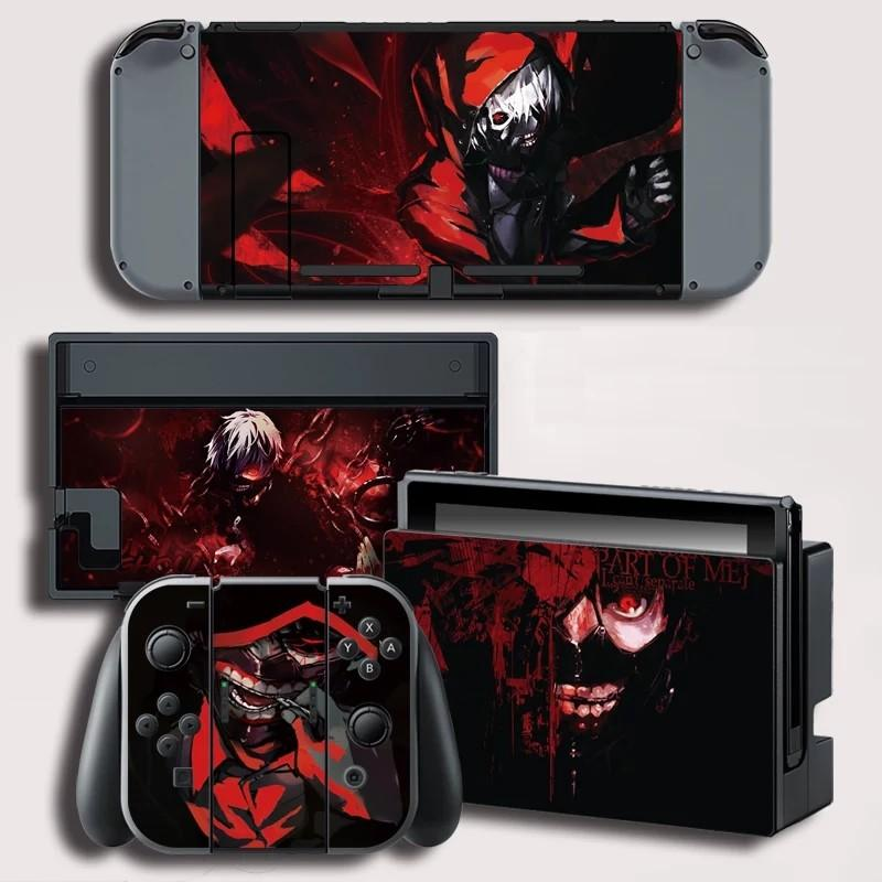 nintendo switch tokyo ghoul vinyl skin protector, Toys