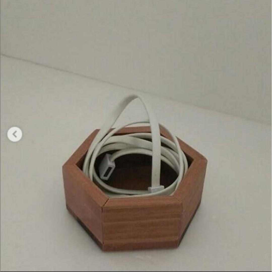 Nyatoh Wood Hexagon Coasters