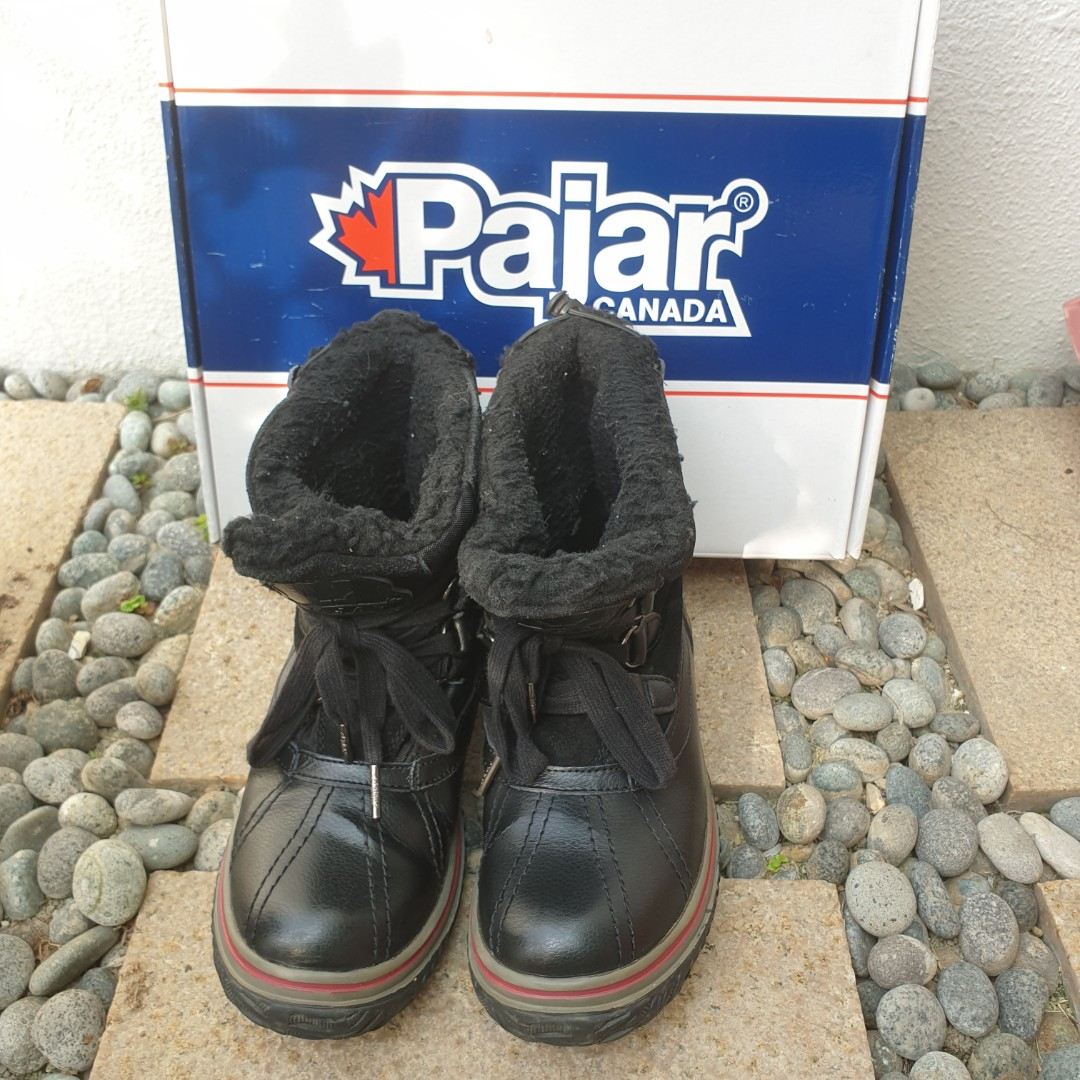 81271abc5 Pajar Iceland Women's Winter Boot (Black/Black, 37 EU/6-6.5 M US), Women's  Fashion, Shoes, Boots on Carousell