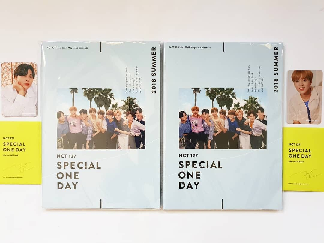 [READY STOCK] NCT127 - Memorial Book: Special One Day