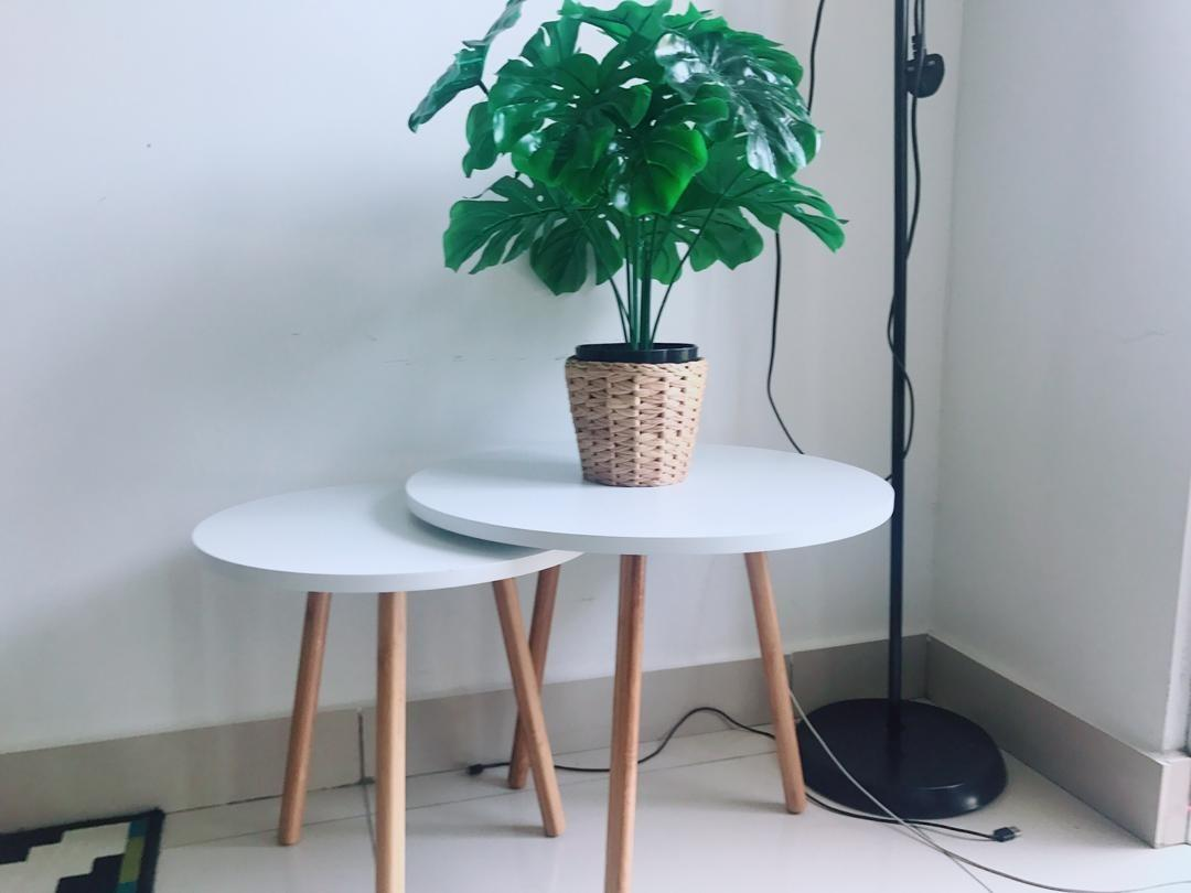 Scandinavian Nest Coffee Table Decor Eames Rayahome Home Furniture Furniture On Carousell