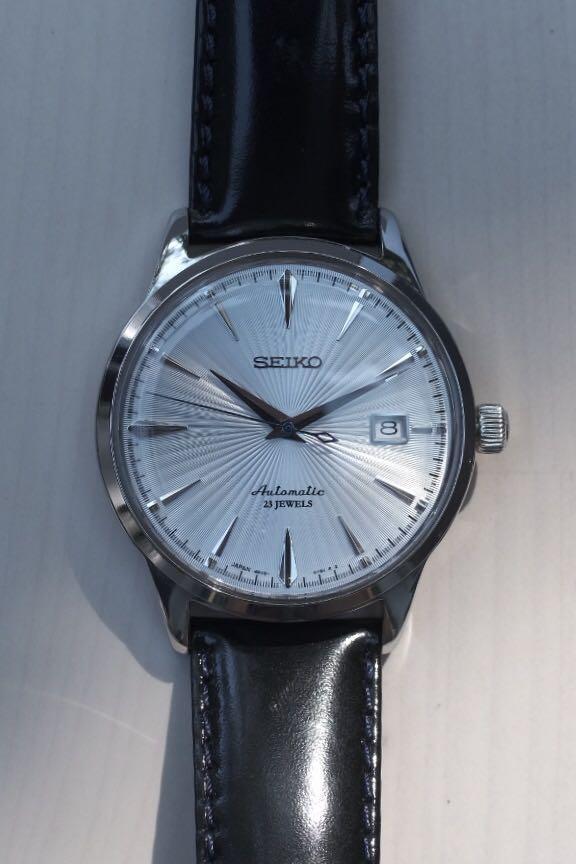 official photos f80b4 da286 Seiko SARB065 (cocktail time), Luxury, Watches on Carousell