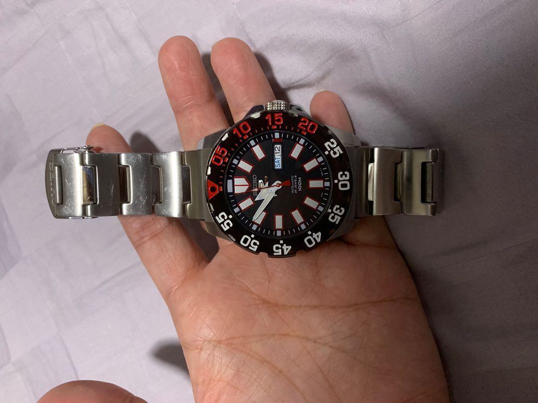 Seiko Sports 5 watch