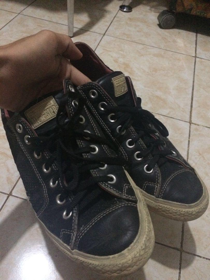 Sepatu converse bekas - converse second ori size 43