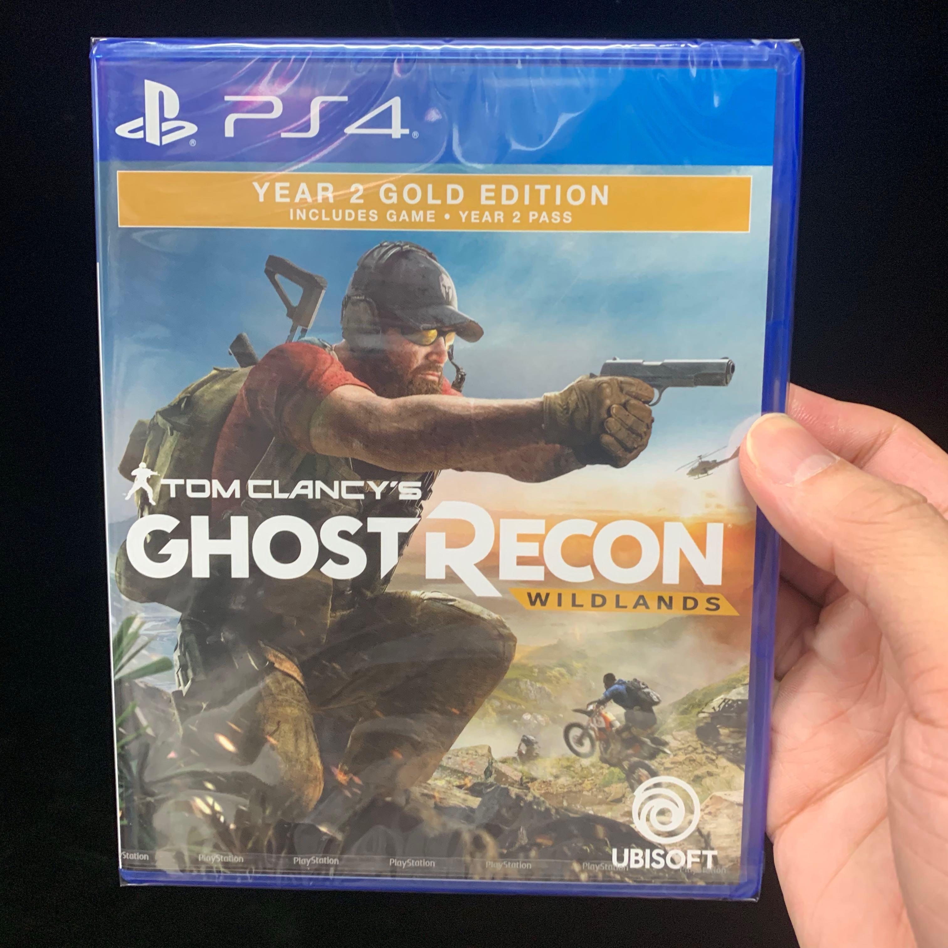 Sony Ps4 Tom Clancy Ghost Recon Wildlands Year 2 Gold